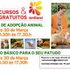 """Feira de Adopção Animal e Workshop """"Treino Básico para o seu patudo"""""""