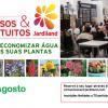 """Workshop """"Como economizar água com as suas plantas"""""""