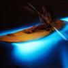 A espectacular lagoa luminosa da Jamaica
