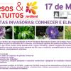 Workshop: Plantas Invasoras: conhecer e eliminar