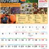 Calendário Jardiland: Outubro
