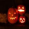 Abóboras aterradoras para o Halloween
