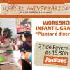 "Workshop Infantil: ""Plantar é divertido"""