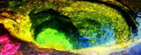 Um fascinante rio de cores na Colômbia