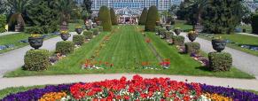 O Jardim Botânico de Berlim, um dos maiores da Europa