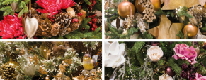 A decoração natural está na moda neste Natal!
