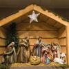 O presépio não pode faltar no Natal mais tradicional