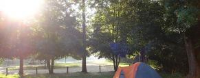 Acampar no jardim