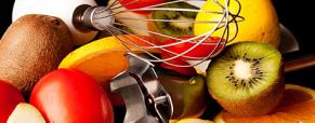 Batidos deliciosos e fáceis e cocktails de fruta