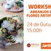 Workshop: Arranjos com Flores Artificiais