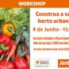 Construa a sua horta urbana!