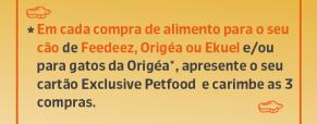 Cartão 3+1 Exclusive Petfood