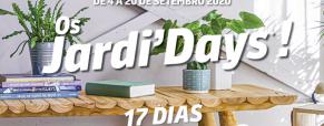 Jardi'Days: 17 dias de ofertas excepcionais!