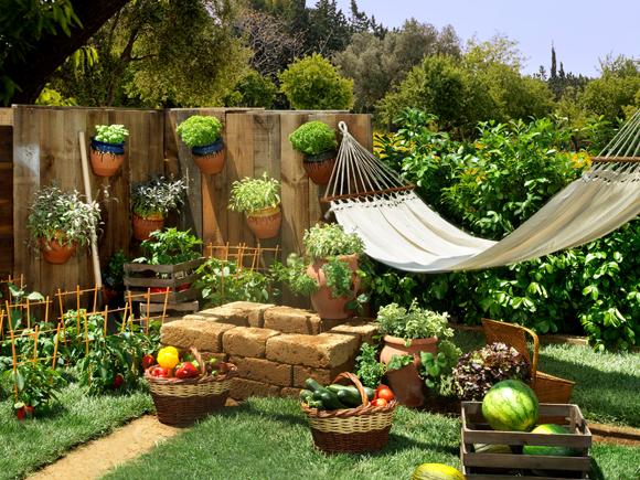 Ideas de huerto en el jard n jardiner a helloforos for Hacer un huerto en el jardin