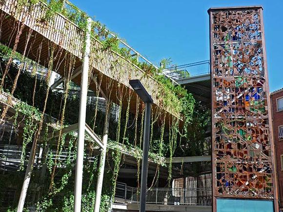 jardim vertical lisboa:Jardim Vertical das Delícias em Zaragoza