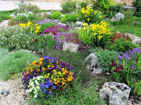 Como criar um jardim de rochas no seu espa o exterior Plantas jardin mediterraneo