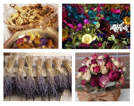 para certas decoraes avaliar se precisamos dessas flores secas so aromticos